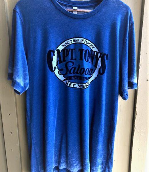 Capt Tonys Saloon Acid WashT-Shirt