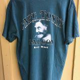 Capt Tonys Saloon Basic T-Shirt Green Back