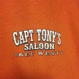 Capt Tonys Saloon Motorcycle T-Shirt Detail