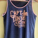 Capt Tonys Saloon Hammock Tee Front