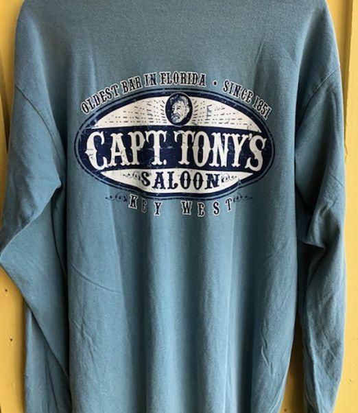 Capt Tonys SaloonLong Sleeve Oval Back