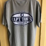 Capt Tonys Saloon Oval Logo